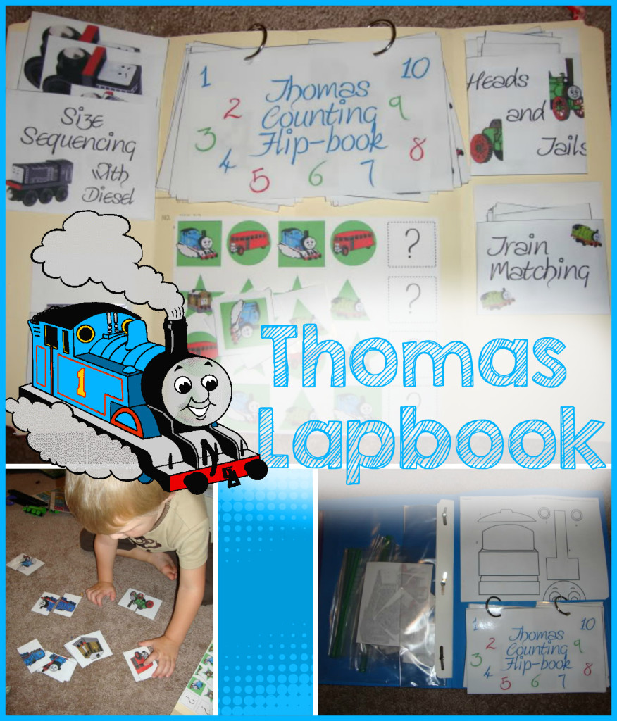 Thomas The Tank Engine Preschool Lapbook