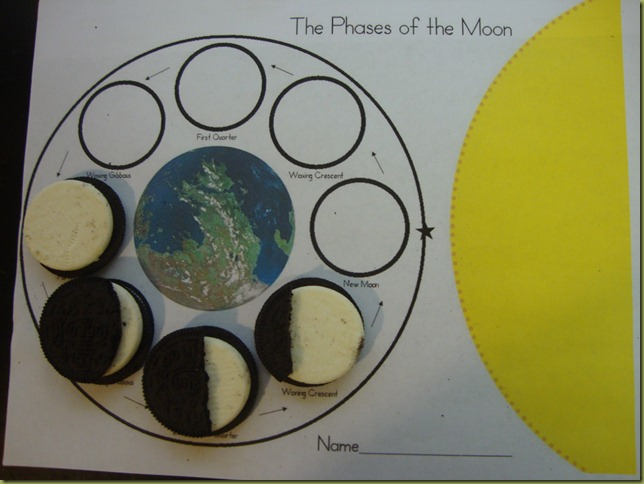 Learning with Literature Harold and the Purple Crayon Royal Baloo – Oreo Moon Phases Worksheet