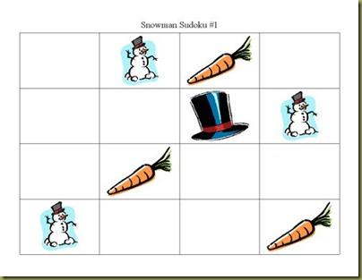 snowmansudoku