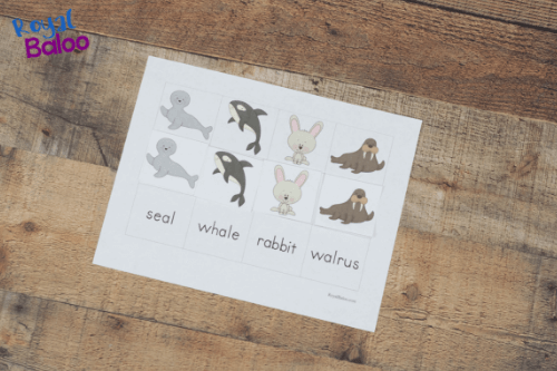 Arctic animal packs for kids! Toddler, preschool, and kindergarten. Work on math, reading, fine motor skills, and more.