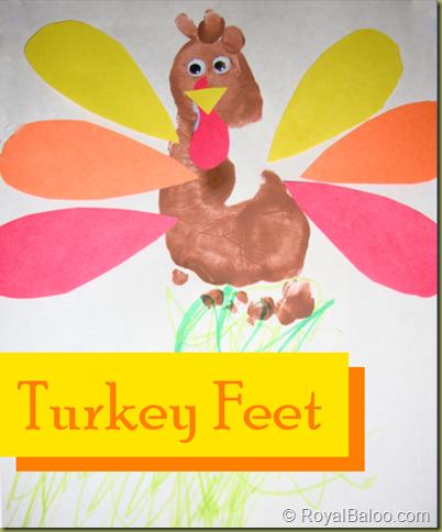 Turkey Footprints