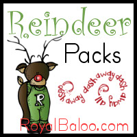 Reindeer Printable Pack