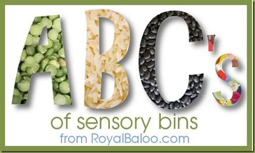 ABCs of Sensory Bins