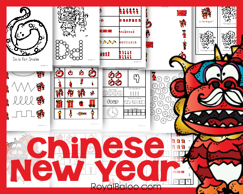 Free Chinese New Year Printable Packs - Royal Baloo