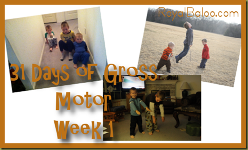 31 Days of Gross Motor Challenge
