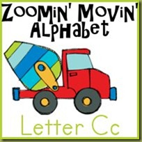 FREE Cc is for Cement Mixer Printables