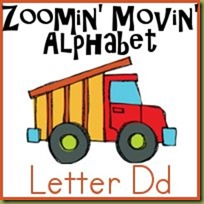 Dd is for Dump Truck Printables