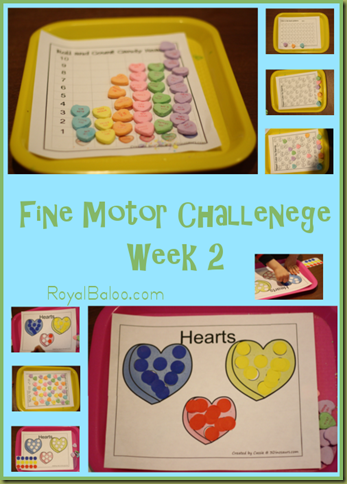 28 Days of Fine Motor Challenege