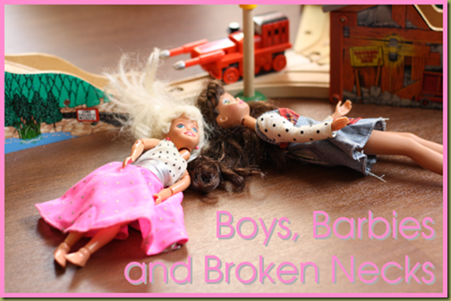 Boys, Barbies, and Broken Necks - Why ignoring gender stereotypes will give our children a leg up.