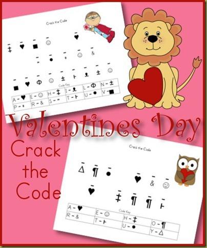 Valentine's Day Crack the Code