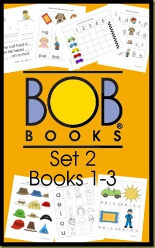 BOB Books Set 2 Books 1-3 Free Printable