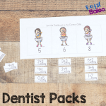 Dentist Printable Packs