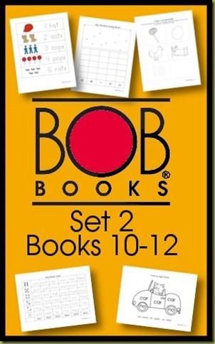 BOB Books Printables Set 2 Books 10-12