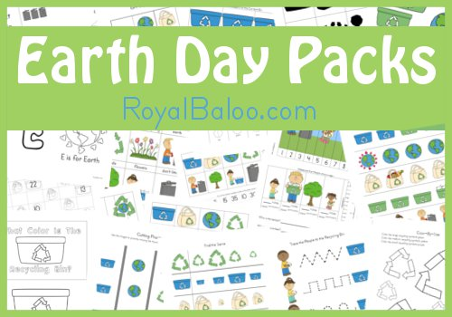 Free Printables Earth Day Packs