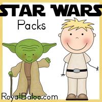 Star Wars Free Printable Packs