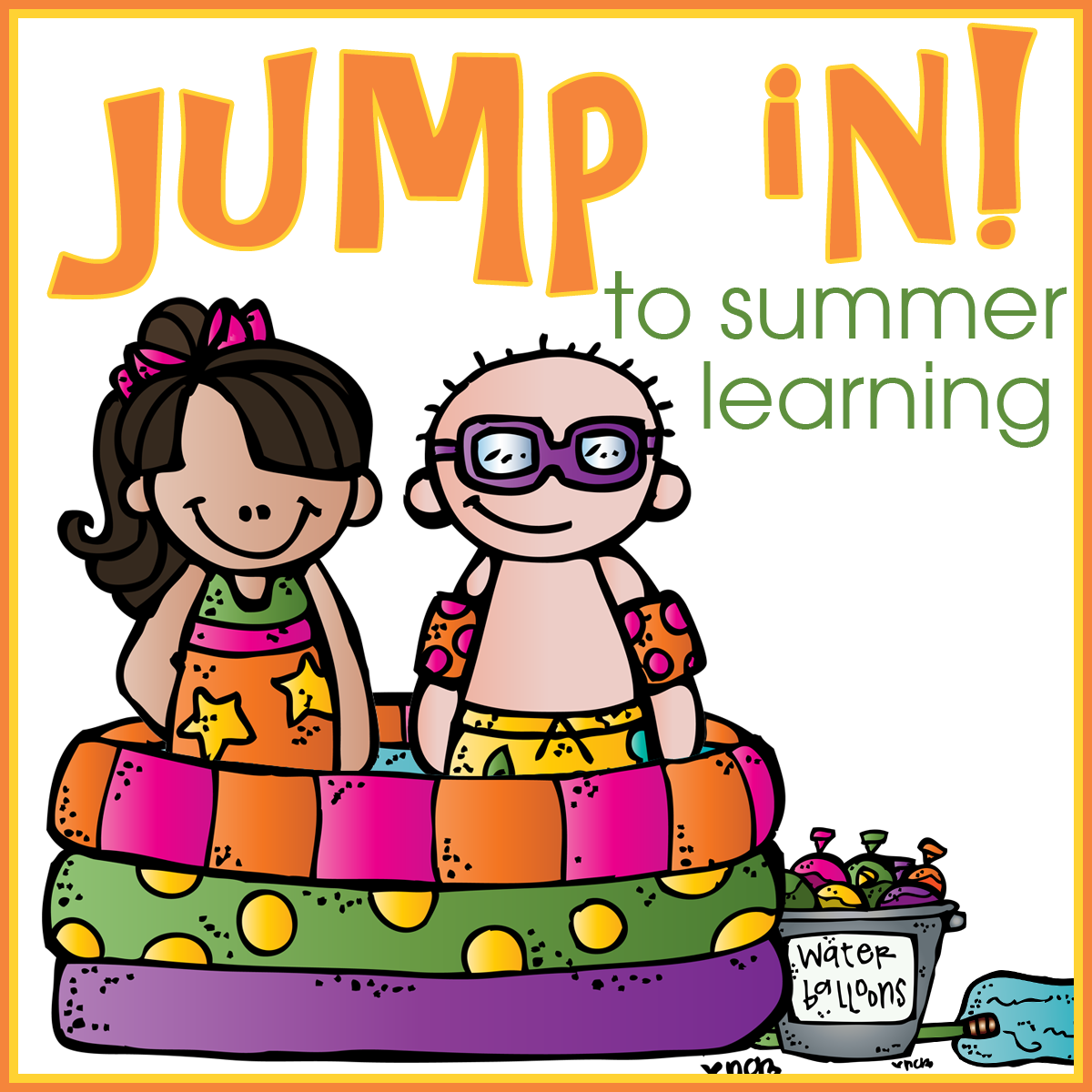 Jump In! To Summer Learning - Royal Baloo