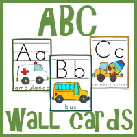 Zoomin Moving ABC Wall Cards