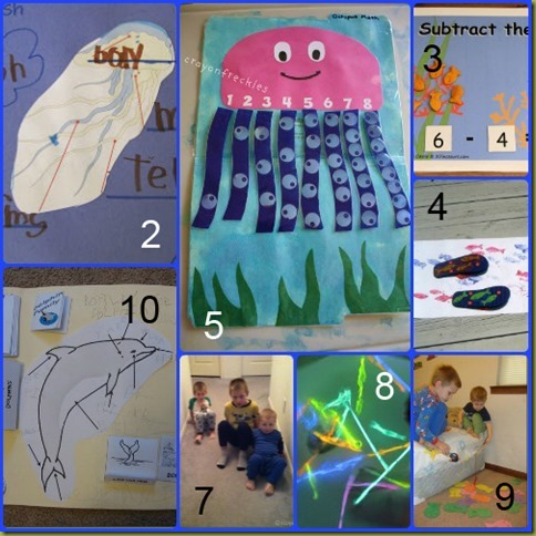 Ocean Theme Lesson Plans: Jump In To Learning - Royal Baloo