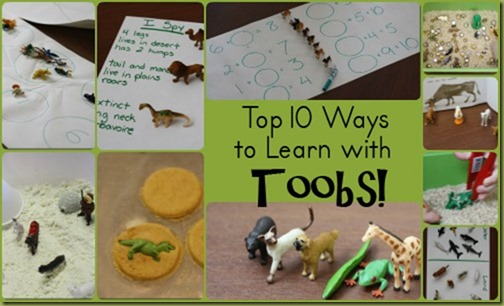 Top 10 Ways to Learn with Toobs - Part of the Schools Out: A Top 10 Series