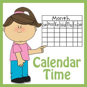 Calendar Time Printables