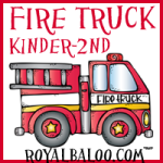 Fun Fireman and Fire Truck Printables
