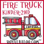 Fun Fireman and Fire Truck Printables