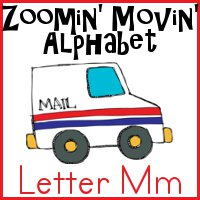 Mm is for Mail Truck