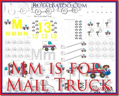 Mm Is For Mail Truck Zoomin Moving Abcs Royal Baloo