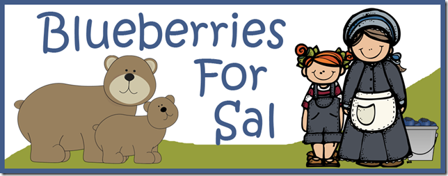 Blueberries for Sal Preschool Pack