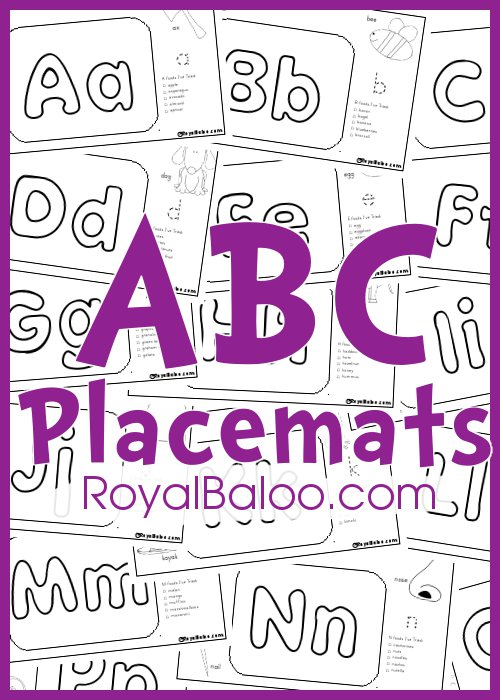 ABCPlacemats