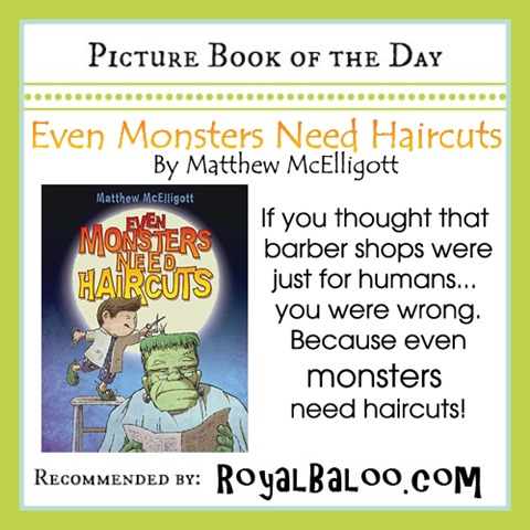 Even Monsters Need Haircuts Cutting Activity