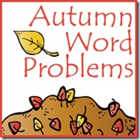 Free Autumn/Fall Word Problems