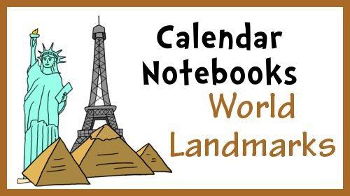 November Calendar Notebook Pages
