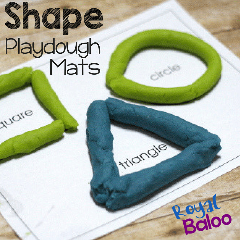 Learn shapes and fine motor skills