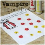 Free Vampire Printable Pack PreK and Tot