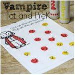 Free Vampire Printable Pack PreK and Tot