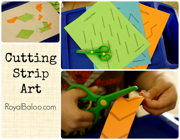 Cutting Strip Art