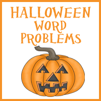 Free Halloween Word Problem Printables