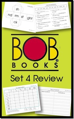 Free BOB Books Printables Set 4 Review