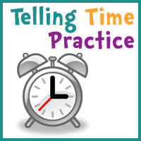 Free Telling Time Practice Cards