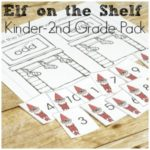 Elf on the Shelf Learning Fun for Math and Reading