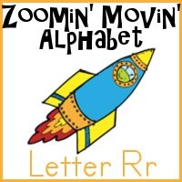 Rr is for Rocket–Zoomin Moving ABCs