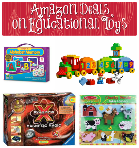 Amazon Deals on Educational Toys