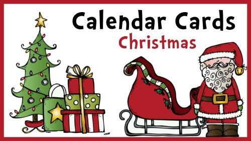 December Calendar Cards–Christmas and Hanukkah