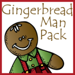 Free Gingerbread Man Packs–Tot through 2nd