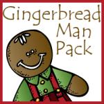 Free Gingerbread Man Packs–Tot through 2nd