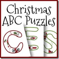 Free Christmas ABC Puzzles