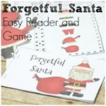 Forgetful Santa Easy Reader and Game for Christmas Fun