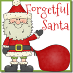 Free Forgetful Santa printables