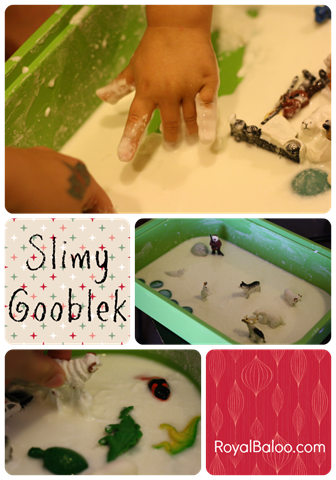 Slimy Gooblek–Sensory Play Party